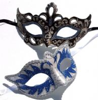 Blue Swan Lake Masks